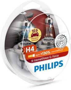 Philips H4 X-treme Vision G force +130% 3500К